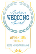 Austrian Wedding Award Winner 2018